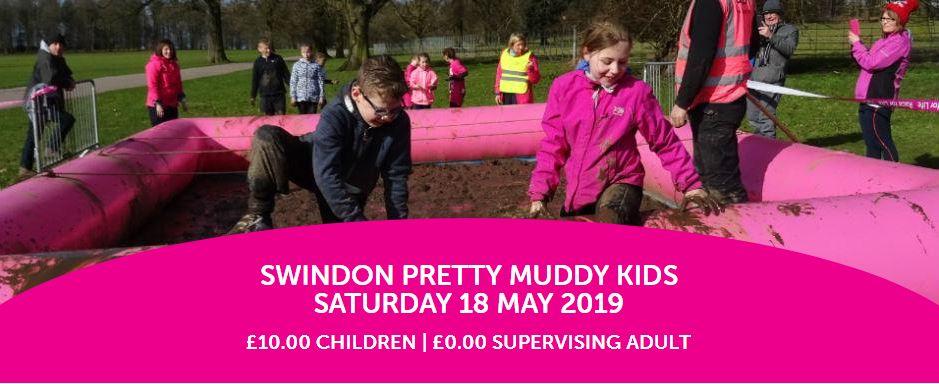 Pretty muddy kids Swindon