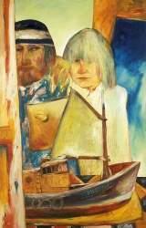 Bellany - Self Portrait with Juliet