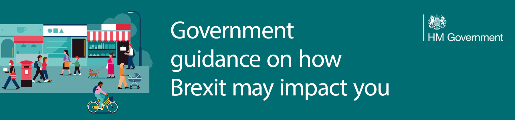 Link to Government website for guidance on Brexit.