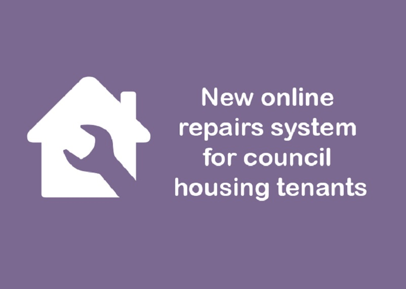 New online repairs system for council housing tenants