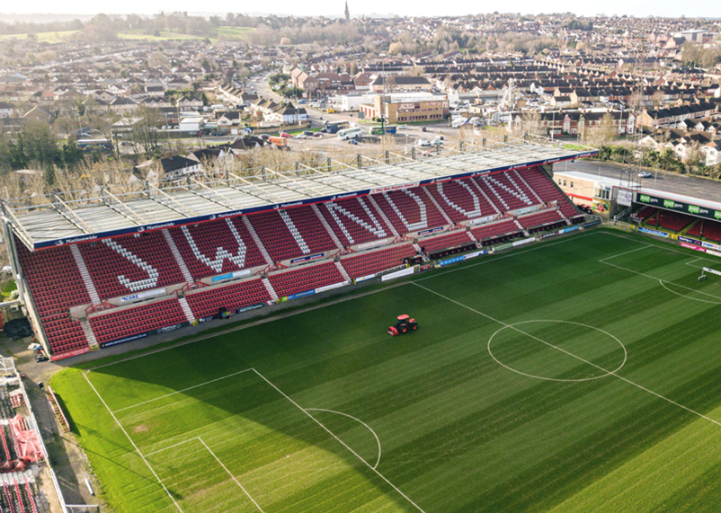 County Ground aerial