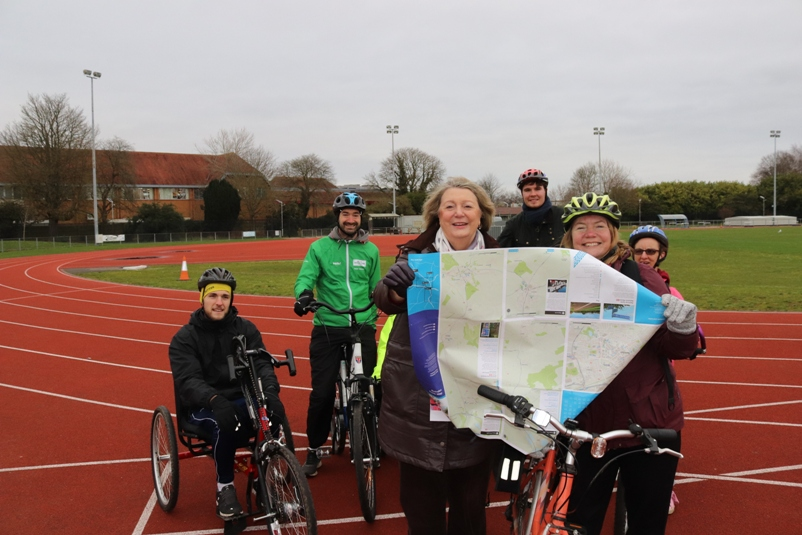 Cycle campaign launch Jan 2020