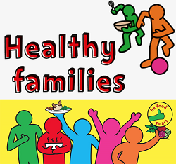 Healthy families, be food smart image