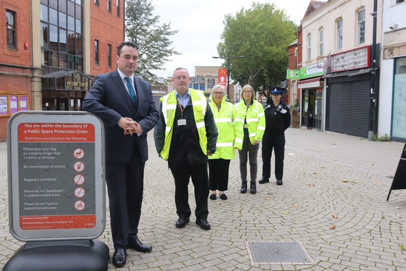 Town Centre enforcement launch
