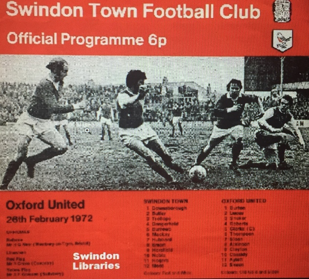 Swindon Town Memories event