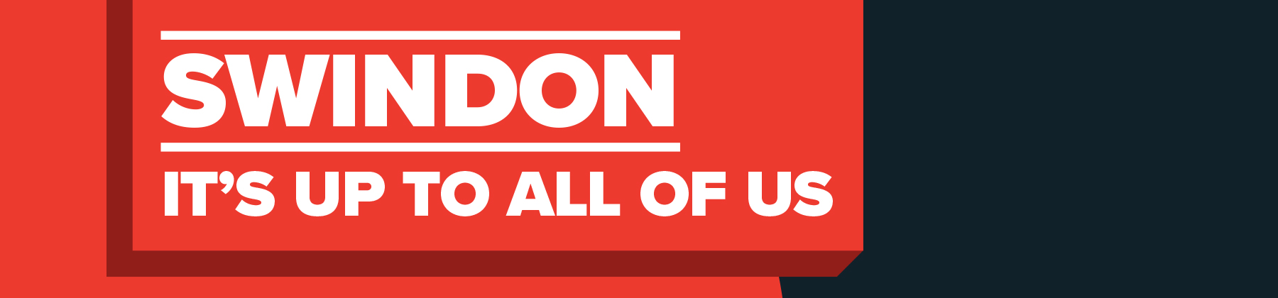 Swindon it is up to all of us - web banner
