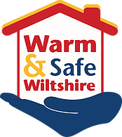 Warm and safe logo