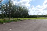 Crematorium car park