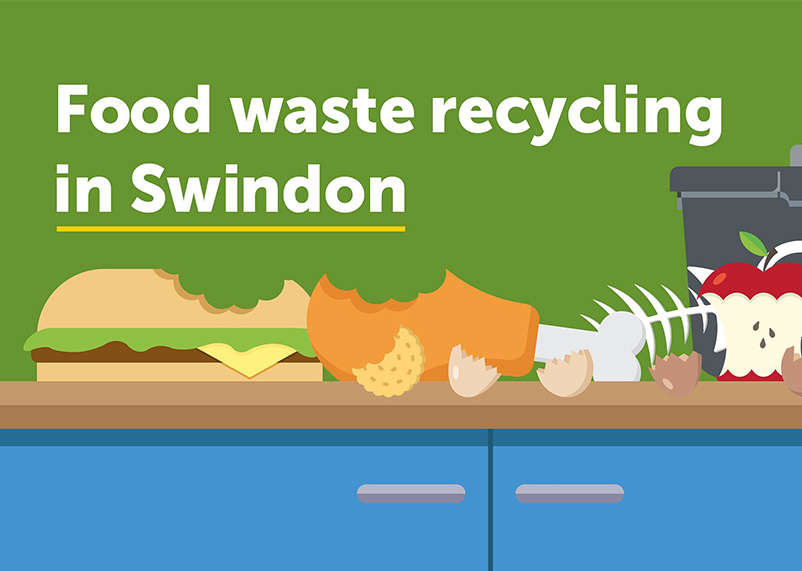 Food waste recycling in Swindon
