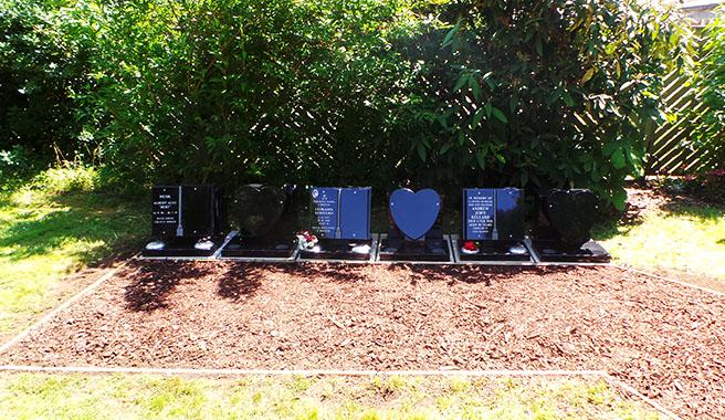A niche at Kingsdown crematorium