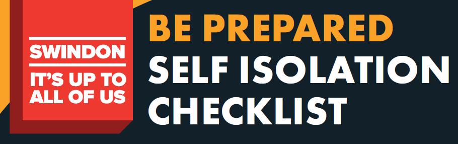 Header - Covid-19 self-isolation checklist