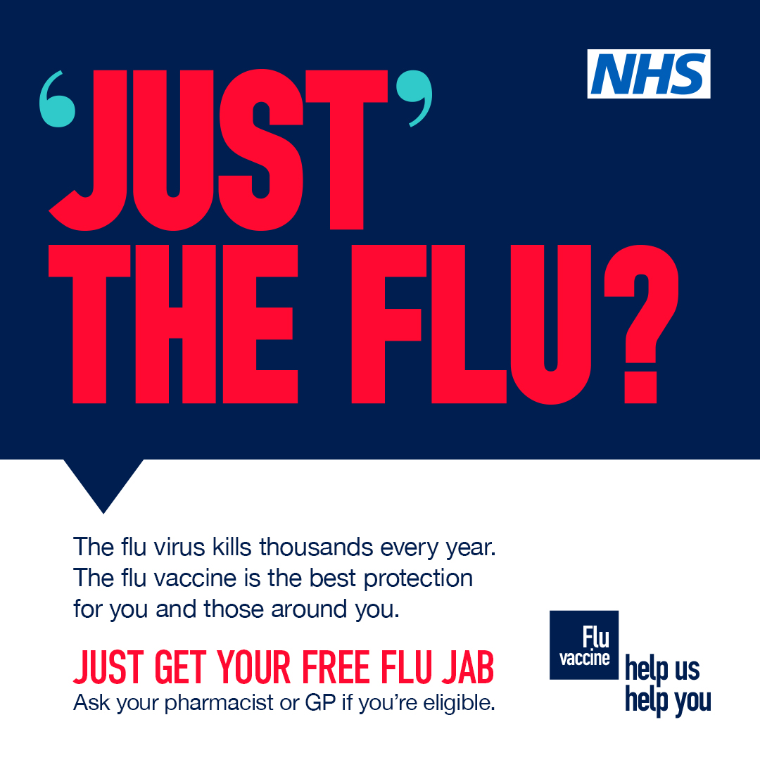 Flu graphic - 'just' the flu?