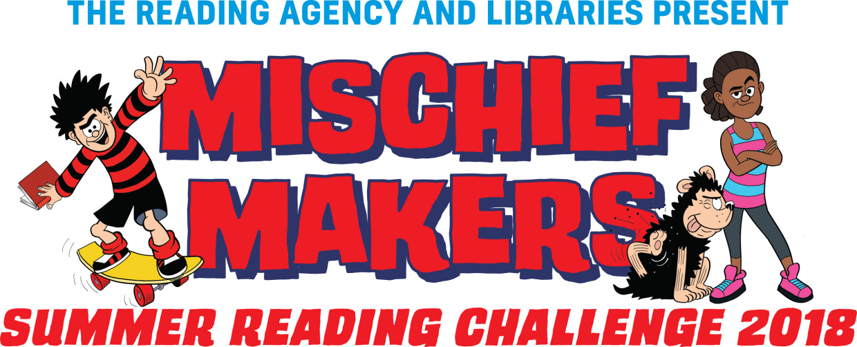 Mischief Makers Summer Reading Challenge 2018 logo