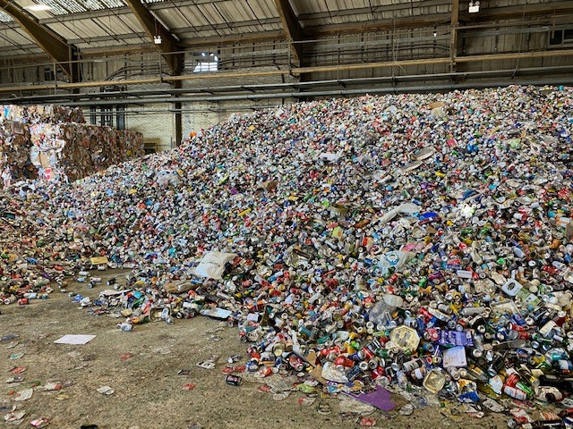 Materials Recovery Facility Christmas Waste and Recycling 2020/21