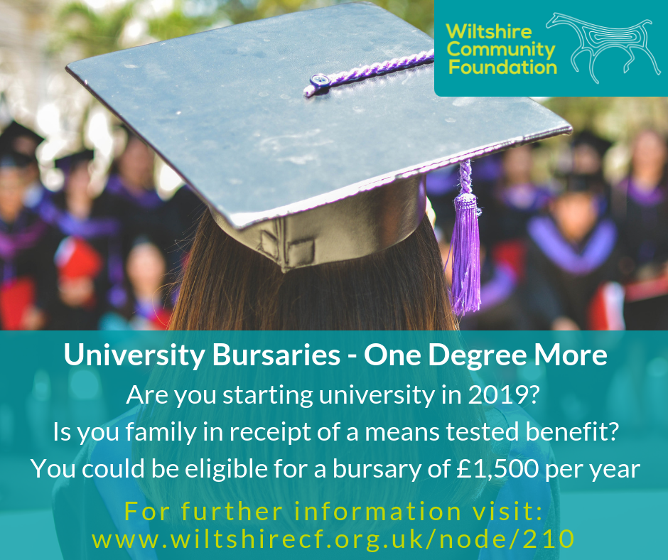 University Bursaries - one degree more